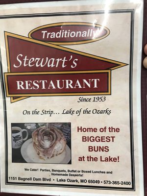 Stewarts Restaurant 1151 Bagnell Dam Blvd Lake Ozark Mo