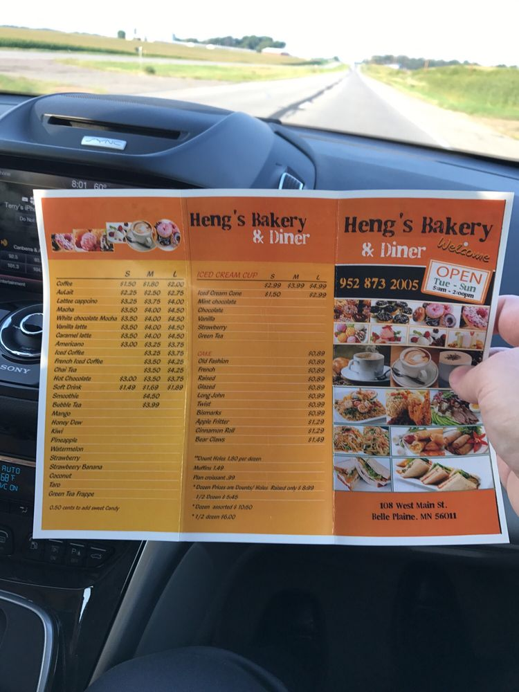 Main Steet Donuts & Deli: 108 W Main St, Belle Plaine, MN