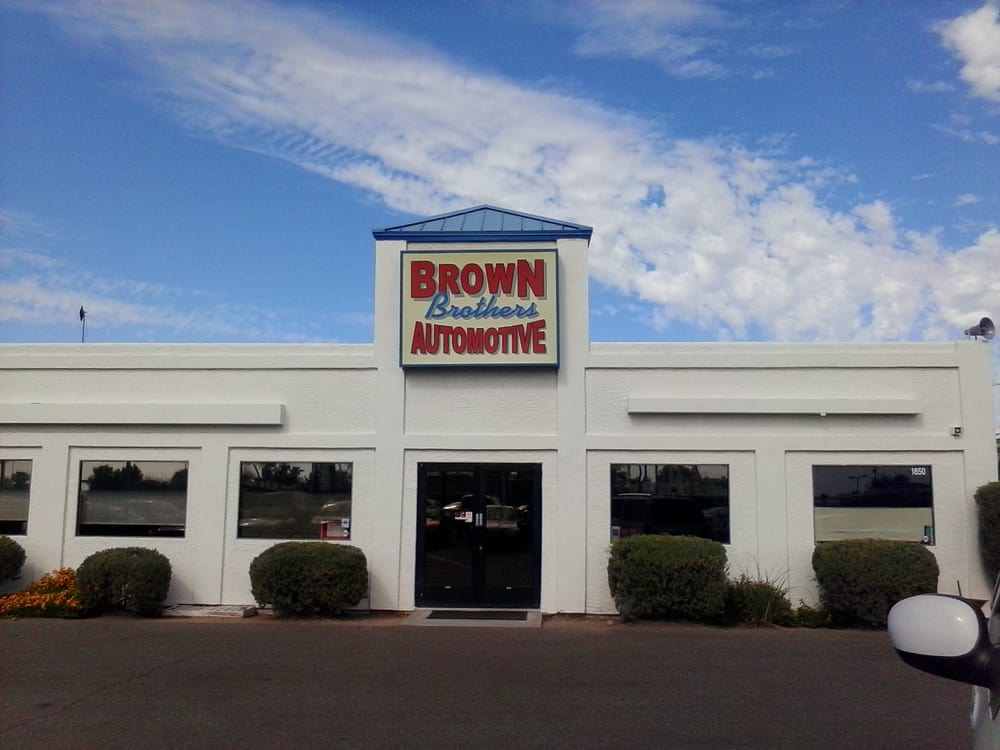 Brown Brothers Automotive Auto Repair 1850 E Main St
