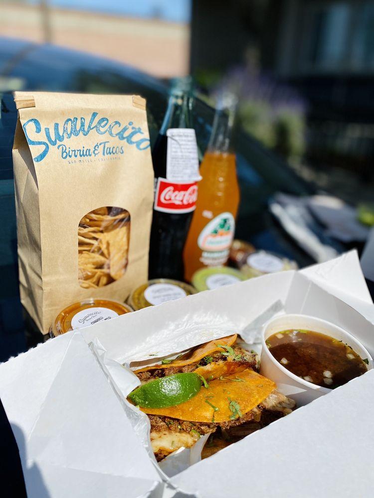 Suavecito Birria & Tacos: 1100 South Amphlett Blvd, San Mateo, CA