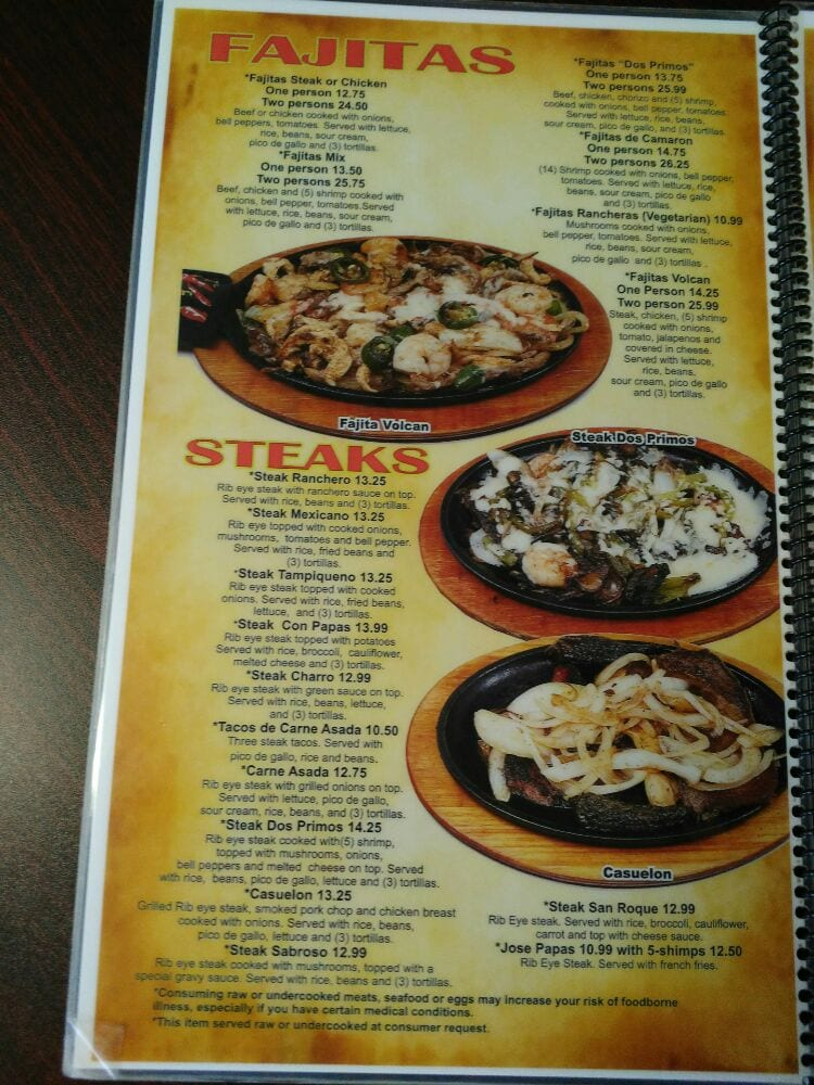 Dos Primos Mexican Restaurant: 130 Weststar St, Holts Summit, MO