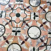 'Photo of The Getty Villa - Pacific Palisades, CA, United States. Beautiful Mosaic Tile Flooring' from the web at 'https://s3-media2.fl.yelpcdn.com/bphoto/hq0jWi2G1MsVR0PjOm4uvQ/168s.jpg'