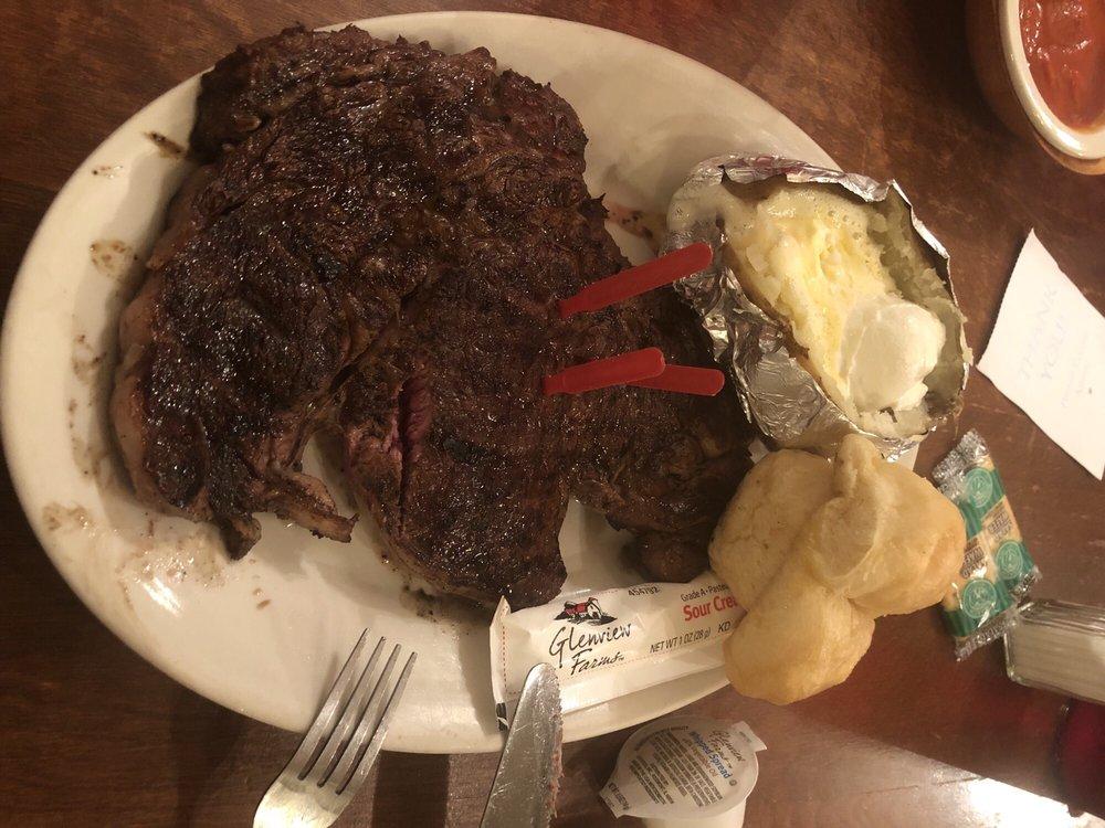 Bull Pen Steakhouse: 244 School St, Oakman, AL