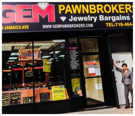 Gem pawnbrokers jewellery 216 15 jamaica ave queens for Capital pawn gold jewelry buyers tampa fl