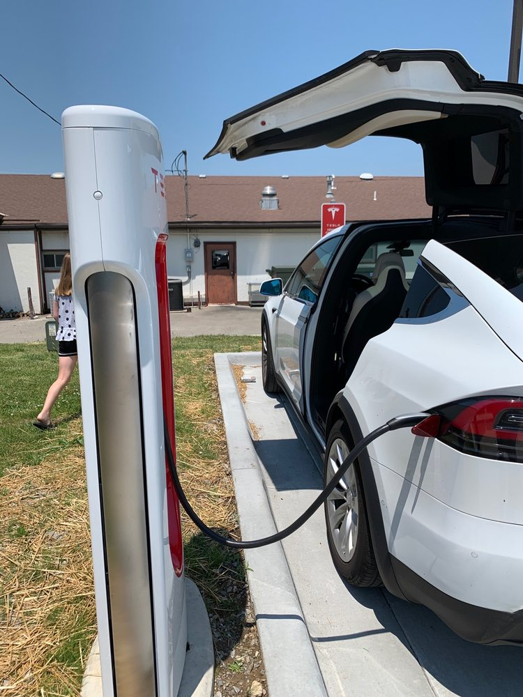 Tesla Supercharger: 101 N Main St, Concordia, MO