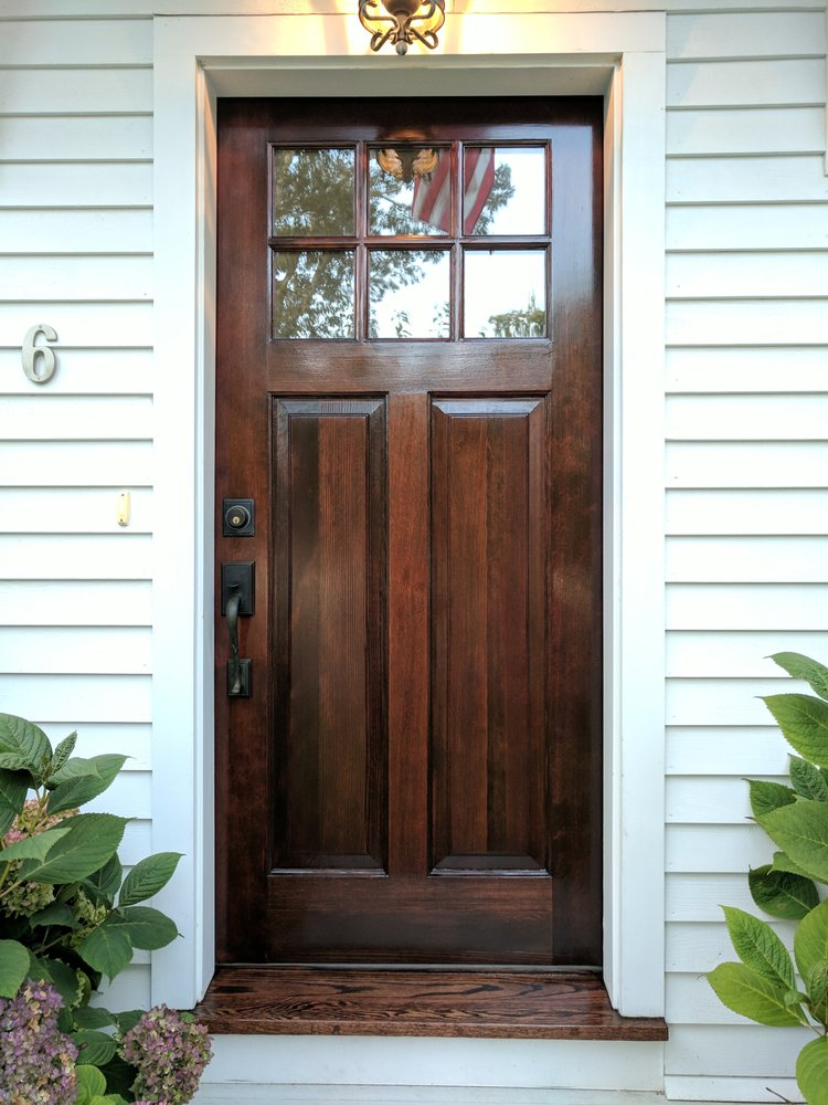 Exceptionnel Photo Of Total Care Painting   Hyannis, MA, United States. Front Door  Restoration