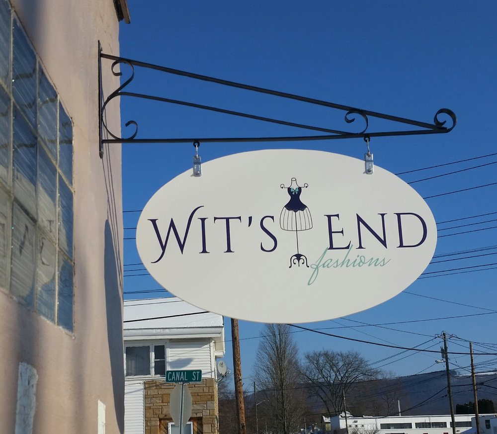 Wit's End Fashions: 61 Main St, Big Flats, NY
