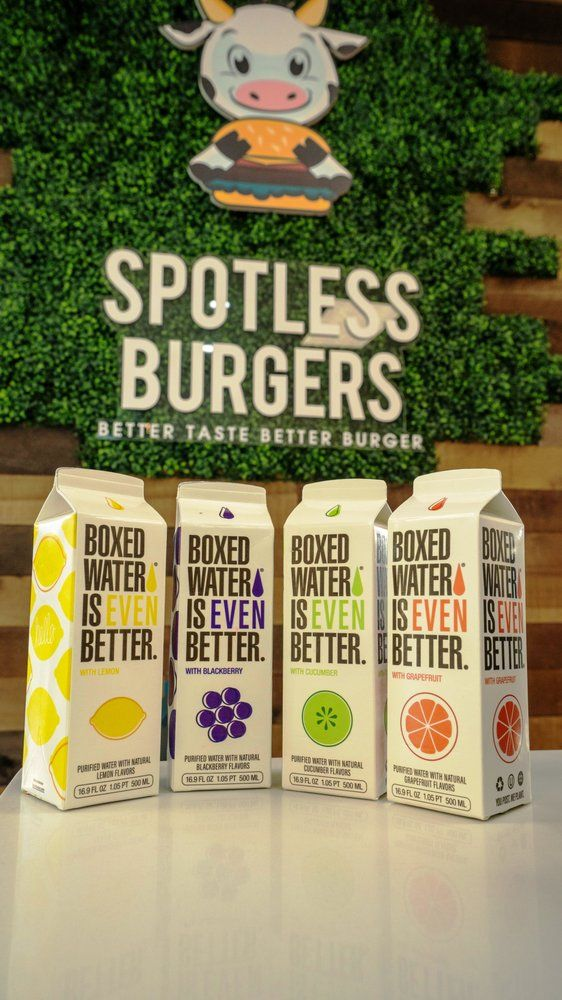 Food from Spotless Burgers