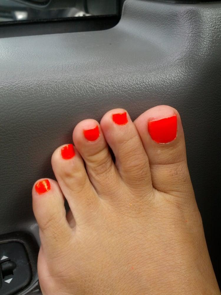My Flashy Bright Orange Toes Yelp