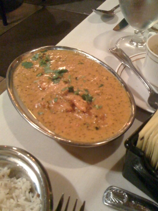 Think this was the chicken korma yelp for 7 hill cuisine of india sarasota