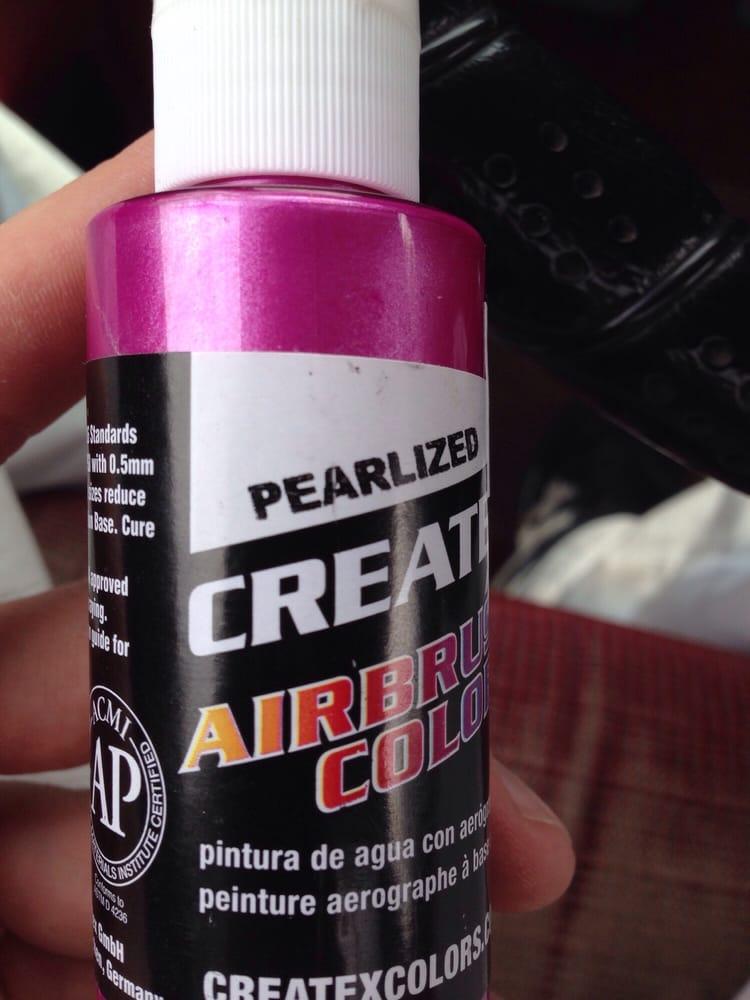 Iridescent airbrush paint  - Yelp