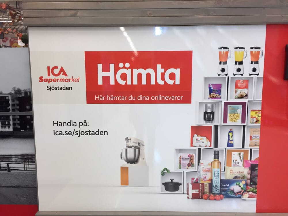 838392d1e3d2 Photo of ICA Supermarket - Stockholm, Sweden. Nu kan man handla mat online  på