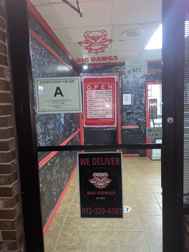 Big Dawgs: 735 Elma G Miles Pkwy, Hinesville, GA