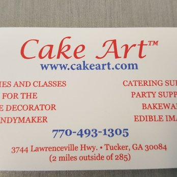 Cake Art Lawrenceville Highway Tucker Ga
