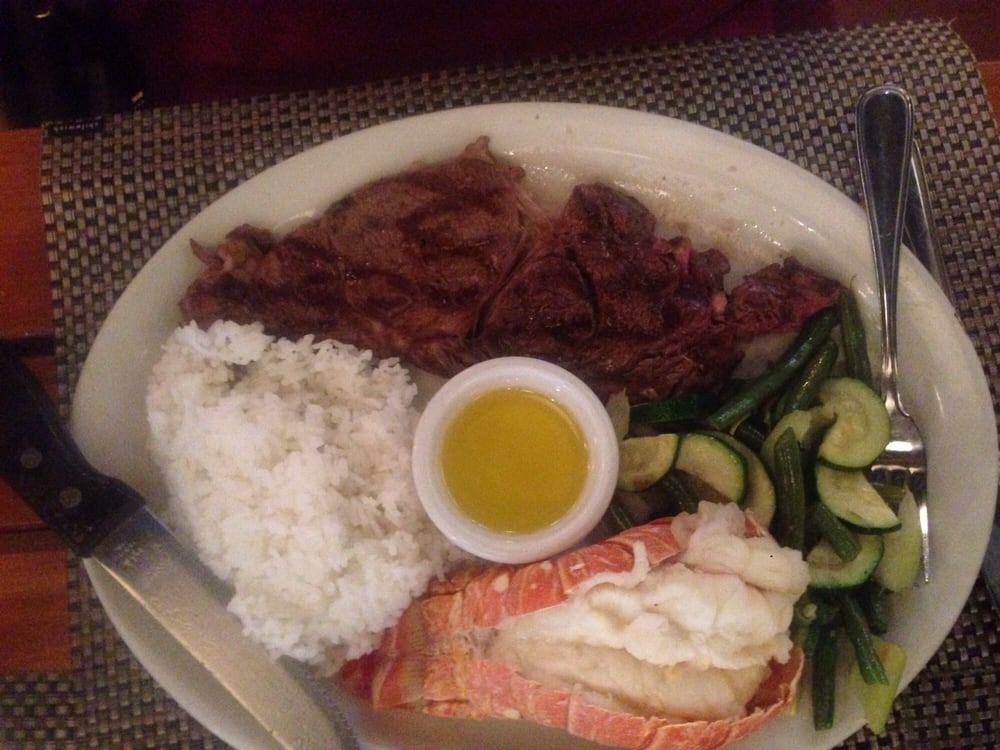 Steak lobster tail uncles special yelp for Uncle s fish market and grill