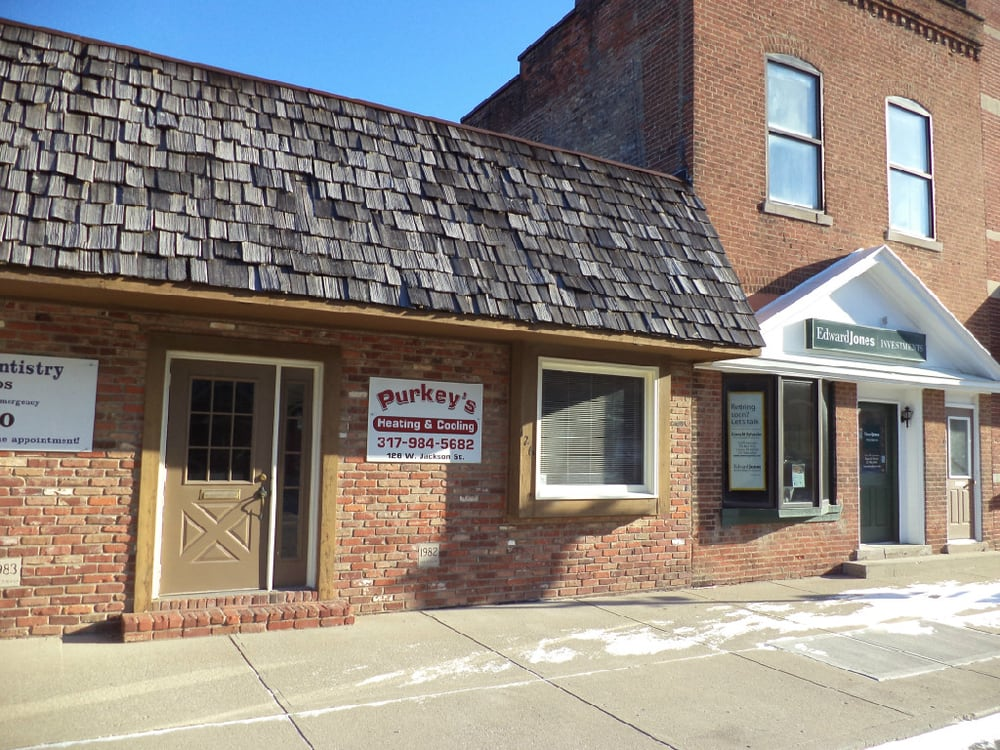 Purkey's Heating & Cooling: 126 W Jackson St, Cicero, IN