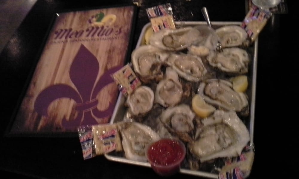 Dozen Raw Oysters On The Half Shell Yelp