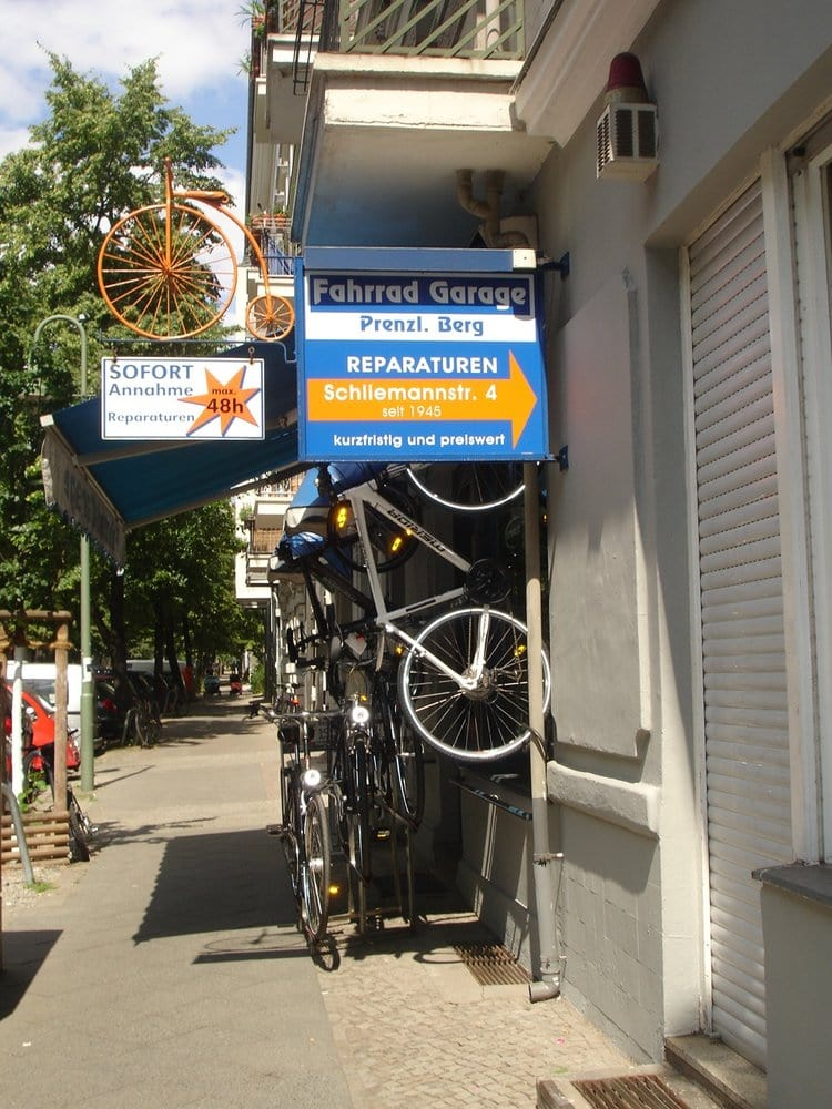 fahrrad garage v los schliemannstr 4 prenzlauer berg berlin allemagne num ro de. Black Bedroom Furniture Sets. Home Design Ideas