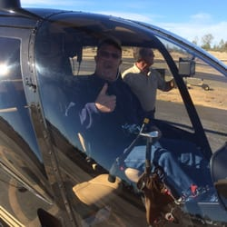 Photo of Sierra Air Helicopters - Auburn, CA, United States. Husband before take
