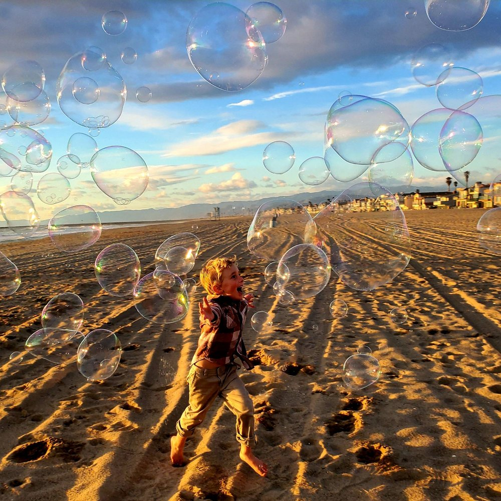 The San Francisco Bubble Man