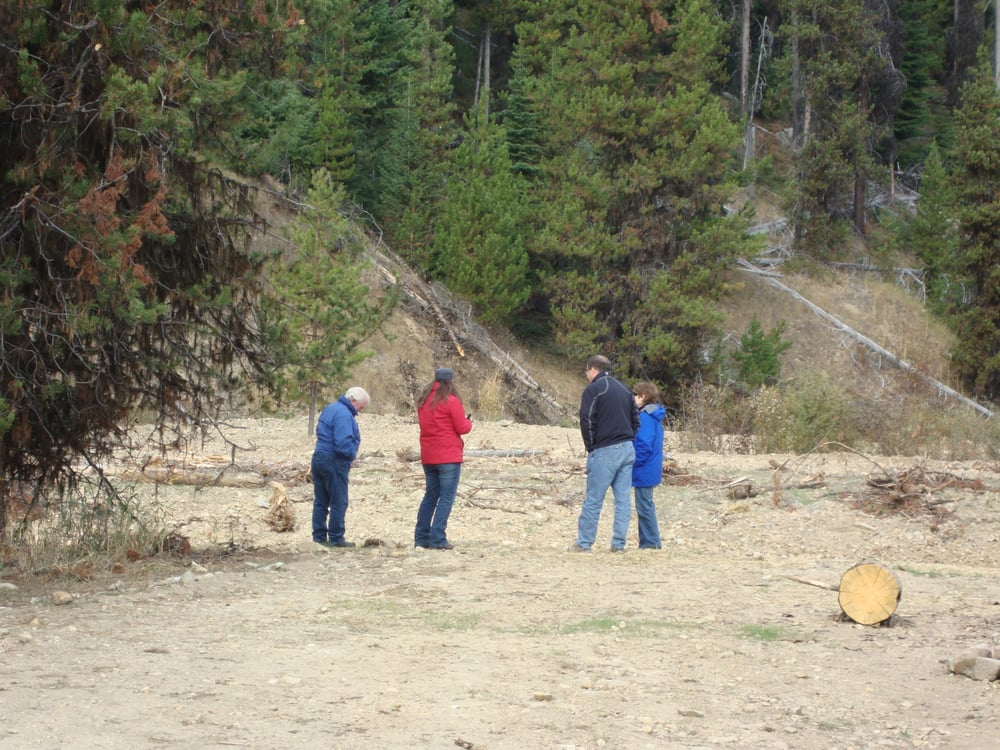 Erdp lead a visit to elk city idaho to view on the ground for Rural development florida