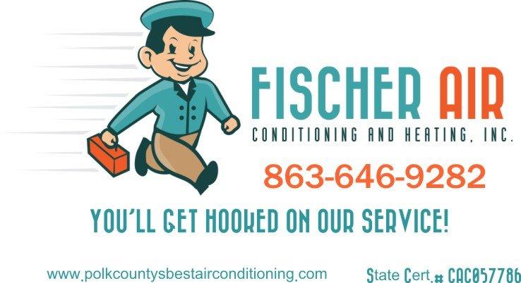 Fischer Air Conditioning: 2389 E F Griffin Rd, Bartow, FL