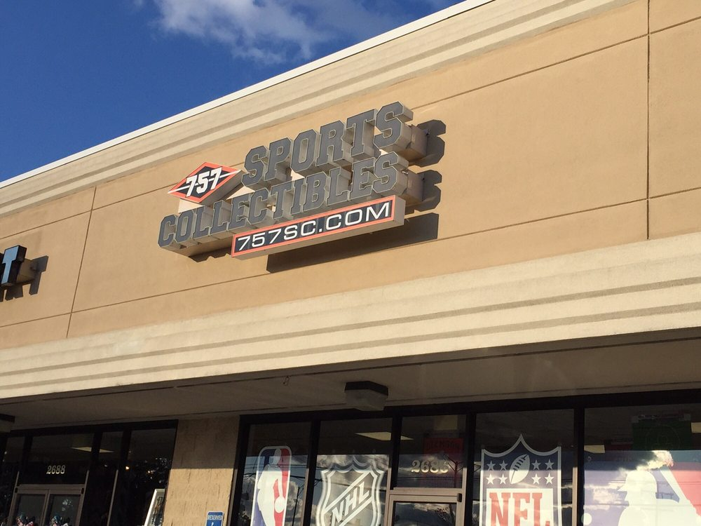 757 Sports Collectibles: 2686 Virginia Beach Blvd, Virginia Beach, VA