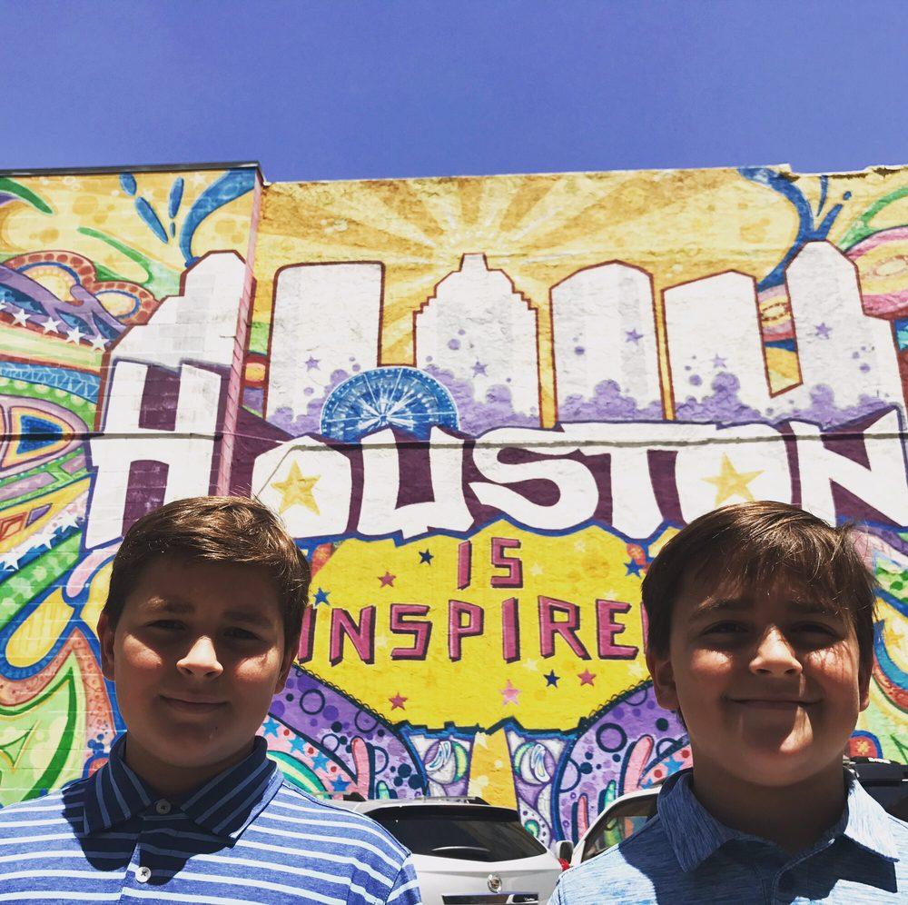 Houston Is...Wall by GONZO247: Travis & Preston, Houston, TX