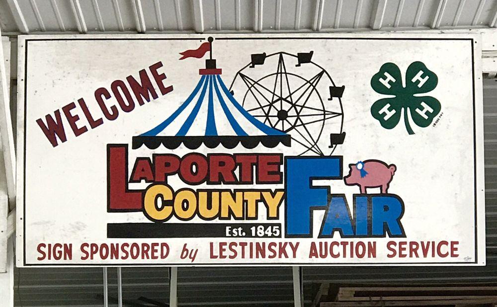 La Porte Fairground: 2581 W State Rd 2, La Porte, IN