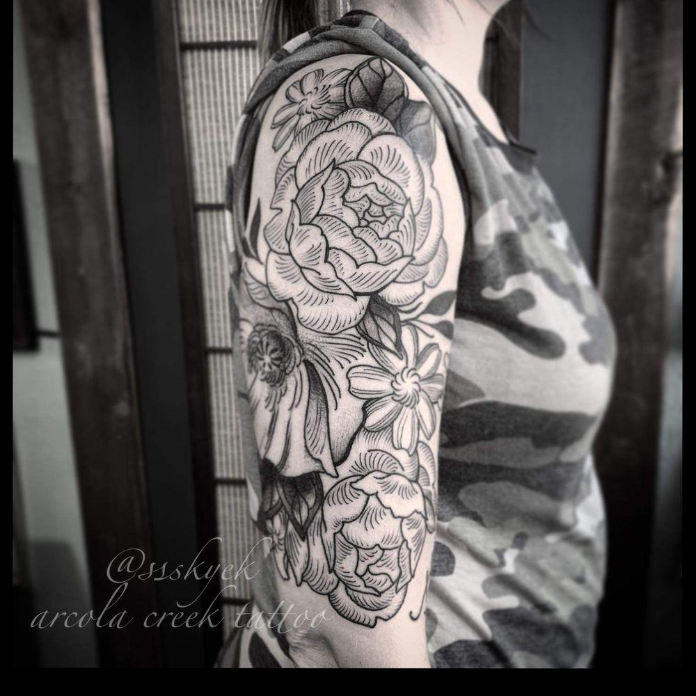 Arcola Creek Tattoo: 123 N Lake St, Madison, OH