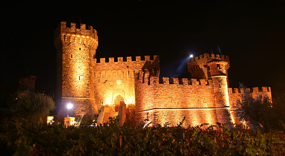 Castello Halloween.Castello Di Amorosa At Night Pagan Ball 2013 Is An Absolutely