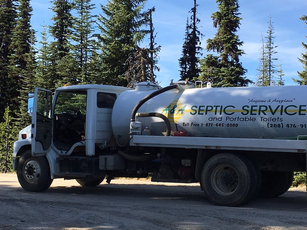 A & A Septic Service: 110 Dworshak Dr, Orofino, ID