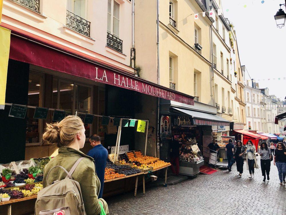 Marché de la rue Mouffetard
