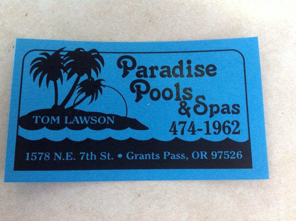 Paradise Pools & Spas: 1578 NE 7th St, Grants Pass, OR
