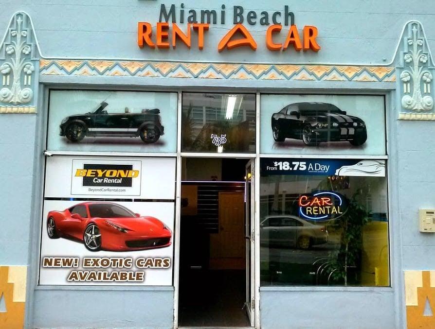 Beyond Car Rental Miami Beach