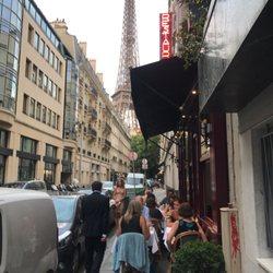 eiffel tower paris france restaurant reviews. photo of au bon accueil - paris, france. near the eiffel tower paris france restaurant reviews e