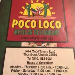 Poco Loco Mexican Restaurant 64 Photos Mexican