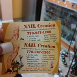 Nail Creations - Nail Salons - 6740 Douglas Blvd, Douglasville, GA ...