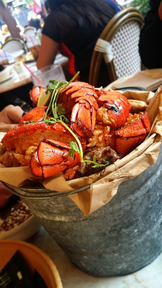 Lobster bucket at Rockin Baja in San Diego. - Yelp