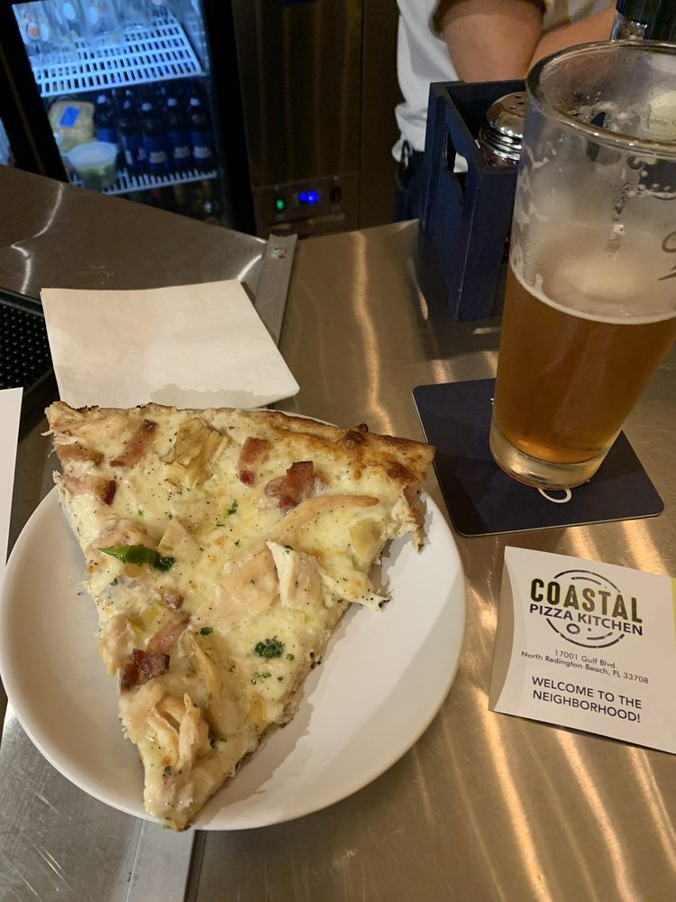 Coastal Pizza Kitchen: 17001 Gulf Blvd, North Redington Beach, FL