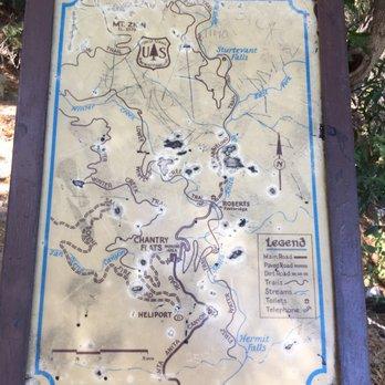 Po Of Mount Zion Trail La Canada Flintridge Ca United States Map