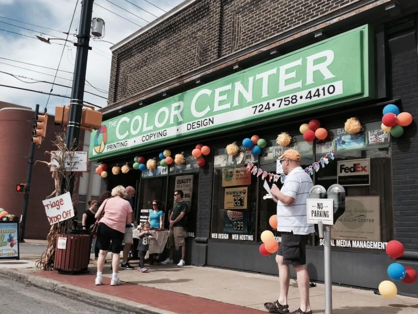 The Color Center: 632 Lawrence Ave, Ellwood City, PA