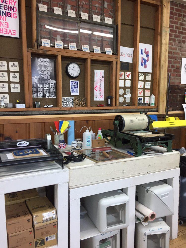 Raghaus Letterpress Studio: 223 Broadway, Newburgh, NY