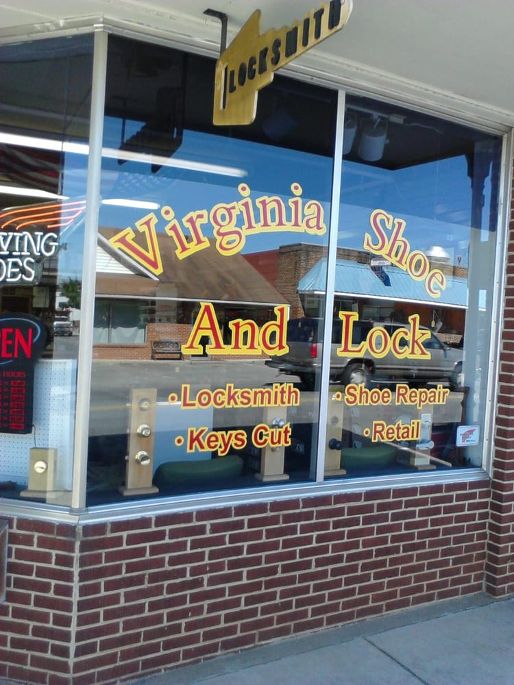 Virginia Shoe & Lock Service: 143 Franklin St, Rocky Mount, VA