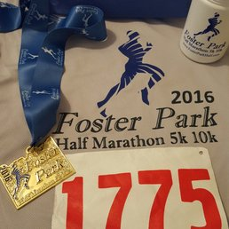 Image result for foster park half marathon