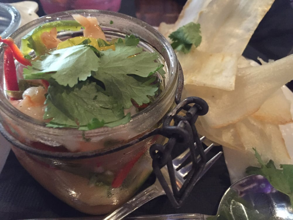 Ceviche shrouded in cilantro yelp for 13 american table boca raton menu