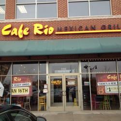 Cafe Rio Menu Frederick Md