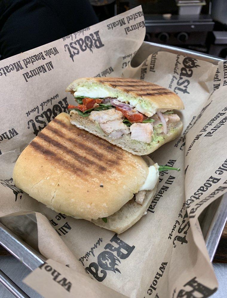 Food from Roast Sandwich House