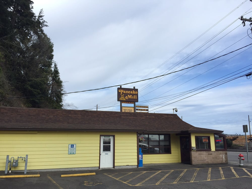 Pancake Mill Restaurant North Bend Or