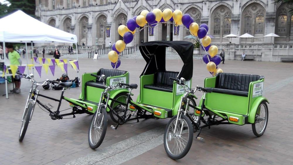 Seattle Pedicab: 1937 Occidental Ave, Seattle, WA